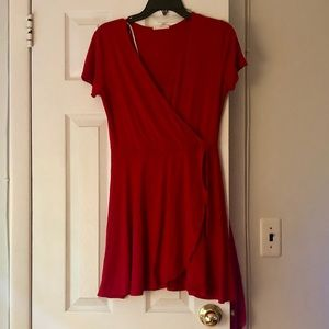 Rolla Coaster Red Dress